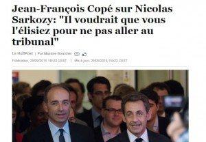 Copé sur Sarkozy