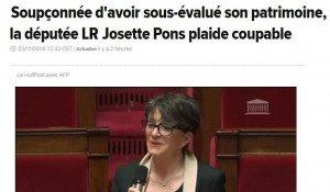 Josette Pons plaide coupable